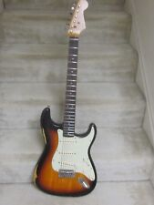 Mike Gee Kustoms USA Relic Strat -Triburst electric guitar-2012,Arizona,nice!!!