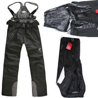 New Men's Outdoor Waterproof Ski Snow Pants Overalls Cargo Trousers Salopettes