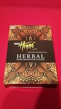 Job lot of 72 x 100grms INDO Medium Brown Herbal Henna for Hair and Tattoo