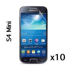 Samsung Galaxy S4 Mini Screen Protector & Cleaning Cloth Wholesale Job Lot x 10