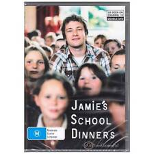 DVD JAMIE'S SCHOOL DINNERS OLIVER 2-DISC BOXSET TV SERIES FOOD HEALTH R4 [BNS]