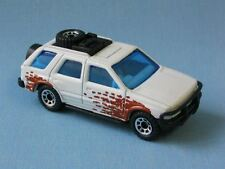 Matchbox Vauxhall Opel Frontera White and Brown Toy Model Car