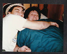 Vintage Photograph Two Men in Bed Hugging - Gay Interest