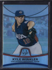 2010 BOWMAN PLATINUM PROSPECTS KYLE WINKLER THICK REFRACTOR PARALLEL #PP49 /999