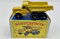 Matchbox No. 6 Euclid Quarry Truck in Original 'E3' Box