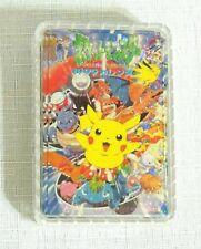 NEW IN PLASTIC BOX POKEMON PICKACHU   PLAYING CARDS DECK