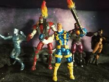 Customized Marvel Legends Omega Red, Cable, Witchblade, Sentinel & Iceman