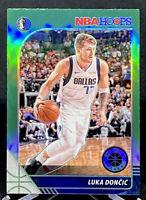 Luka Doncic 2019-20 NBA Hoops Premium Stock Green Prizm Dallas Mavericks