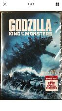 Godzilla King Of The Monsters (2019) New Dvd .Free Shipping.
