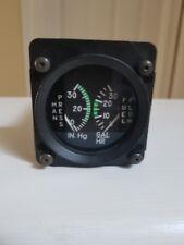 Cirrus Sr22 Manifold Fuel Flow Gauge Part 135 00004000 58-002 (Mfr P/N Eg3130-08013)