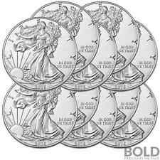 2016 Silver 1 oz American Eagle BU (10 Coins)