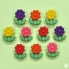 Dress It up Buttons Garden Gems 8985 - Embellishments Flowers Daisy Flower