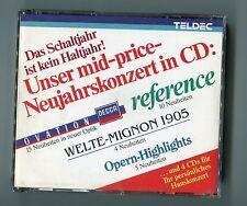 Teldec Decca 4 CDs PROMO Fatbox Das Schaltjahr ist kein Haltjahr - West Germany