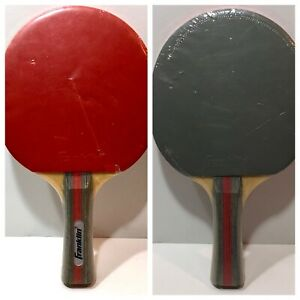 1 Franklin Grey/Red SEALED Table Tennis Paddle Ping Pong single paddle NEW