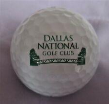 Dallas National Golf Club - Dallas, Texas - Logo Golf Ball
