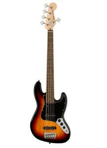 Fender Squier Affinity Jazz Bass V LRL BPG 3TS 3-Color-Sunburst 5-Saiter E-Bass