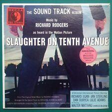 SLAUGHTER ON TENTH AVENUE Film Noir Soundtrack LP (RARE STEREO) Richard Rodgers