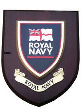 Royal Navy Military Shield Wall Plaque