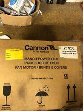Cannon Manor P/F Fan Motor/Bends & Covers