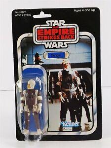 Star Wars Kenner ESB 39329 DENGAR Action Figure 1980 Sealed On Card 41D Back