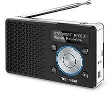 TechniSat DIGITRADIO 1 / Digital-Radio, OLED-Display, DAB+, UKW,   Akku