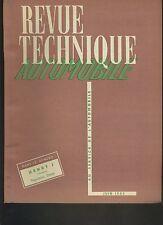 (C3A)REVUE TECHNIQUE AUTO KAISER HENRY J / Boîte OPEL OLYMPIA synchromesh 1950