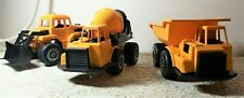 Sand Beach Kids Toys Construction Excavator Dump Truck Smart Cement Mixer SET 3