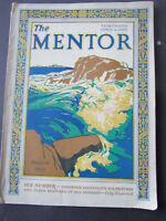1929 The Mentor Magazine Howard McCormick Cover Sea Number Roosevelt's Ships