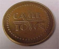 Game Town Token-Non Redeemale-No Cash Value -10540C