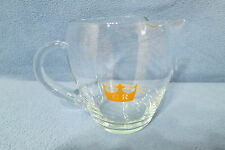 "Chivas Regal Scotch Whisky 16 oz Glass Barware Mixing Pitcher 4 1/4"" Tall"