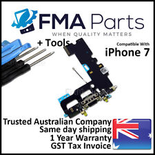 iPhone 7 OEM Black Dock Connector Port Microphone Flex Cable Charge Replacement