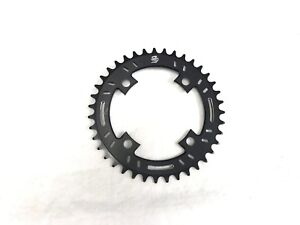Snap BMX Products S4 104mm 4 bolt Chainring - 38t Black