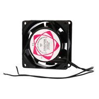 220V 240V 80x80x25mm Fan AC Metal Brushless Cooling Industrial Fan
