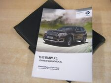 BMW X5 OWNERS HANDBOOK -OWNERS MANUAL 2015-2018 INC I DRIVE SYSTEM, REFm113