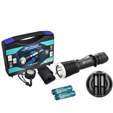 Olight M23 Javelot Cree XP-L LED Flashlight Torch + Charger + Battery + Diffuser