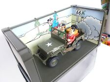 GATE Laurel & Hardy in Jeep 1:18  AS IN  NEW OVP