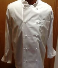 Chef Works Men's Cool Vent Chef Coat Long Sleeve Size Lg (New Without Tags)