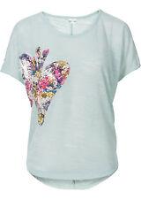 Bezauberndes Shirt mit Pailletten-Applikation Gr. 40/42