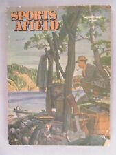 Sports Afield Magazine - August, 1947