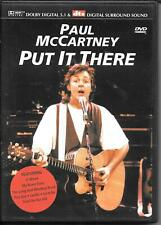 DVD ZONE 2--PAUL McCARTNEY--PUT IT THERE
