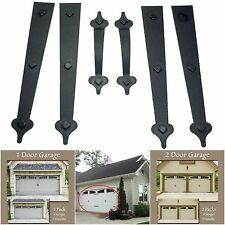 Garage Door Accents Magnetic Kit 2 Handles 4 Hinges Hardware Coach House Window