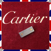 Genuine Cartier Santos End Link 0 Stainless Steel & Gold 18K 16 mm 10372810