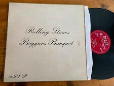 LP UK 1968 MONO  The Rolling Stones – Beggars Banquet Etichetta: Decca – LK.49