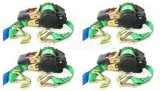 4 x Automatik Spanngurt Ratschenspanngurt selbstaufrollend 3 Meter RJT08 ANGEBOT