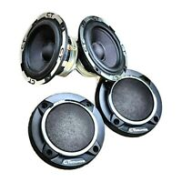 CT Sounds Meso 3.5 Inch Car Audio Midrange 2 x 30w RMS Powerbass Speakers (Pair)