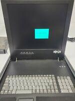 "Tripp Lite Rackmount Console 17"" LCD Display, Full Keyboard B021-000-17 NO RAILS"