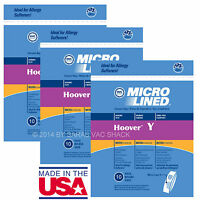 Hoover Vacuum Bags Type Y for Windtunnel Upright Microlined Bag 30 Pack