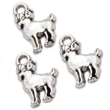500pcs Wholesale Vintage Silver Aries Zodiac Signs Zinc Alloy Charms Pendant L