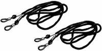 Brillenband Brillenkordel Brillenkette 2 Stück schwarz  Brillen Fassung Gestell
