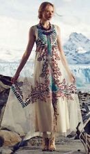 Embroidered Glacia Gown By Geisha Designs SZ 0 Maxi Dress $298 NWT